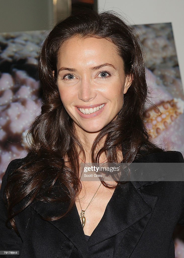 Olivia Chantecaille attends The Tiffany & Co. Foundation's 'Too Precious To Wear' launch to raise awareness of threatened marine animals at MoMA on January 23, 2008 in New York City.