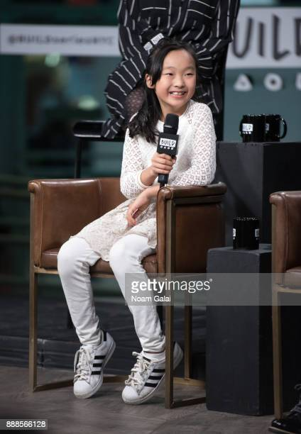 Olivia Chun visits Build Series to discuss the 2nd anniversary of 'School Of Rock' at Build Studio on December 8 2017 in New York City