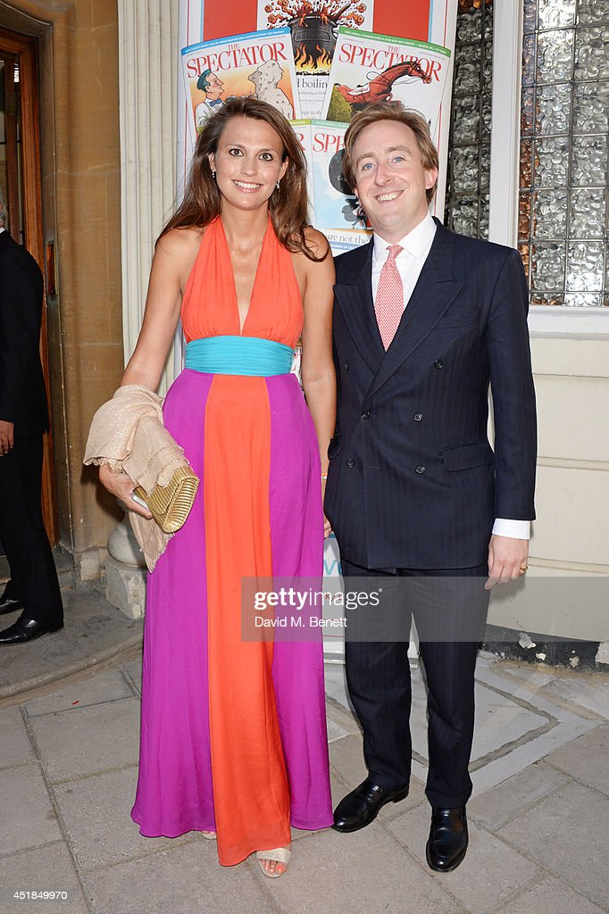Olivia Cole (L) and guest attend The Spectator Summer Party at Spectator House on July 3, 2014 in London, England.