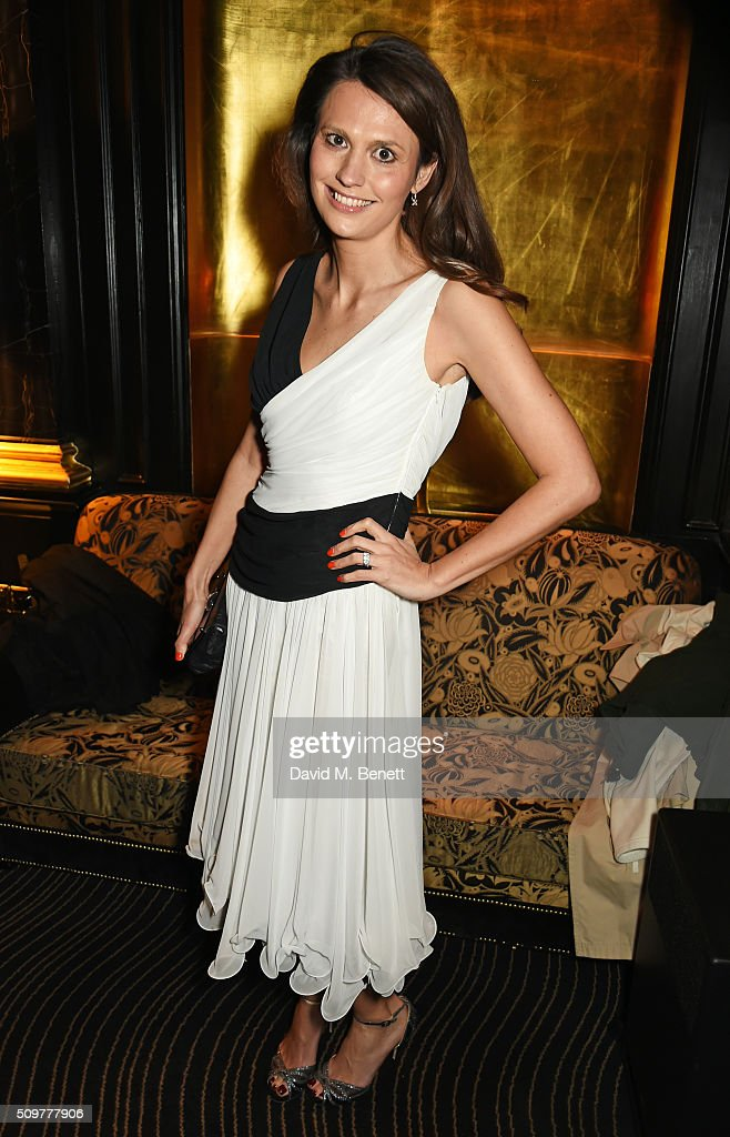 Olivia Cole attends the GQ and Hackett Pre-BAFTA party, celebrating Hackett's fifth year as the Official Menswear Stylist to the EE British Academy Film Awards, at The Savoy Hotel on February 12, 2016 in London, England.