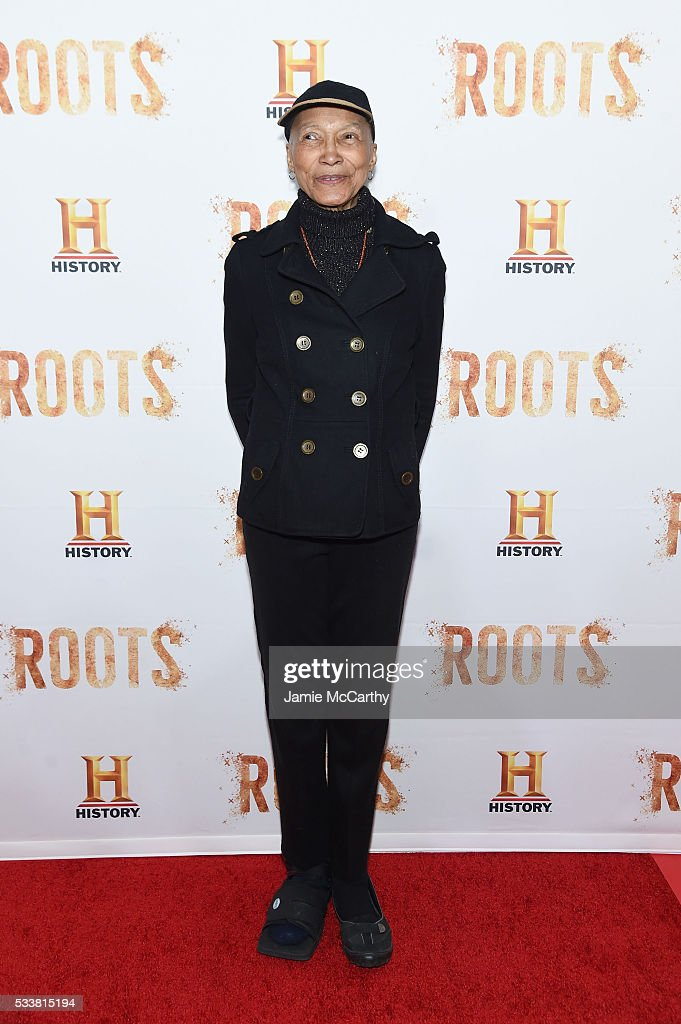 Olivia Cole attends the 'Roots' night one screening at Alice Tully Hall Lincoln Center on May 23 2016 in New York City