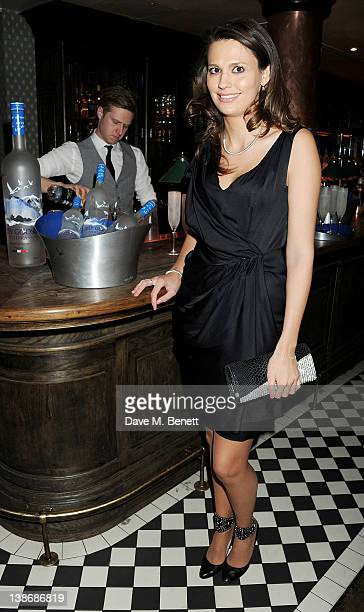 Olivia Cole attends The Weinstein Company Dinner Hosted By Grey Goose in celebration of BAFTA at Dean Street Townhouse on February 10 2012 in London...