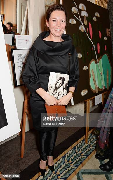 Olivia Colman attends a fundraising event for The Eve Appeal at Claridge's Hotel on November 3 2014 in London England