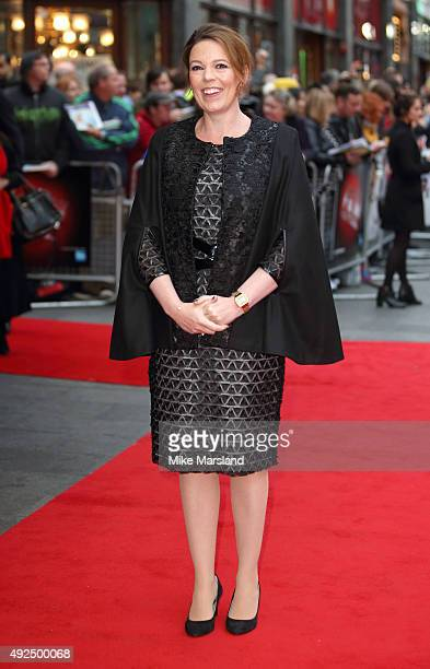 Olivia Colman attends a screening of 'The Lobster' during the BFI London Film Festival at Vue West End on October 13 2015 in London England