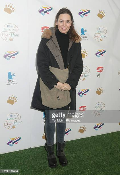 Olivia Colman attends a screening of We're Going on a Bear Hunt at the Empire Leicester Square in central London