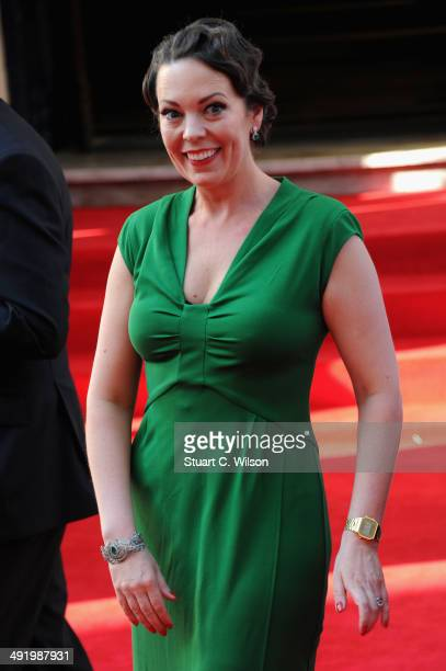Olivia Colman attends the Arqiva British Academy Television Awards at Theatre Royal on May 18 2014 in London England