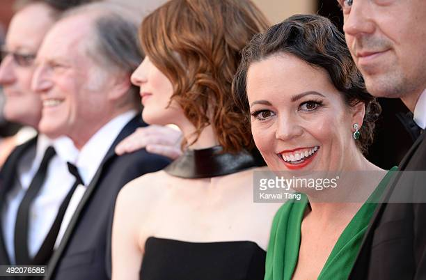 Olivia Colman attends the Arqiva British Academy Television Awards held at the Theatre Royal on May 18 2014 in London England