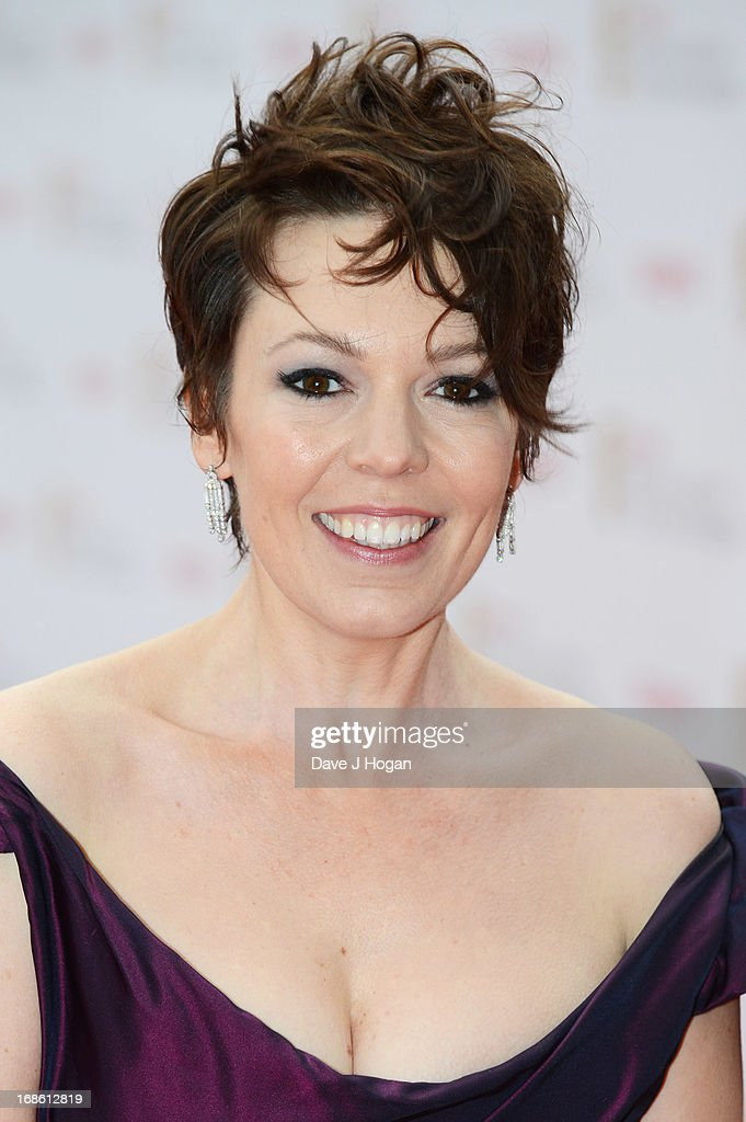 Olivia Colman attends the BAFTA TV Awards 2013 at The Royal Festival Hall on May 12, 2013 in London, England.
