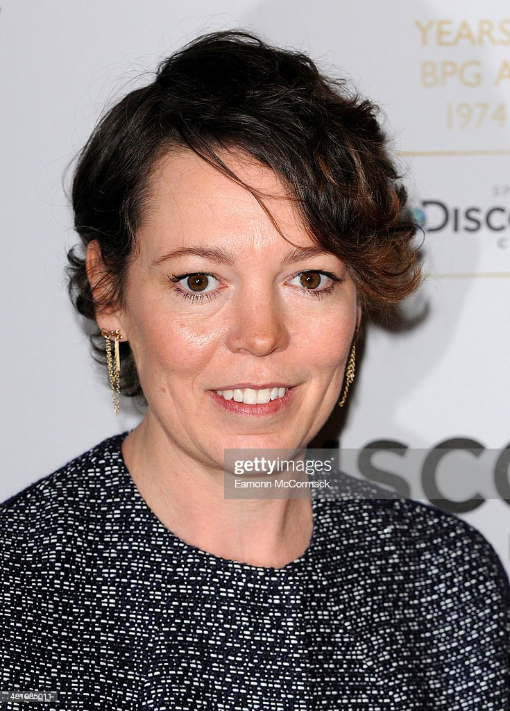 <a gi-track='captionPersonalityLinkClicked' href=/galleries/search?phrase=Olivia+Colman&family=editorial&specificpeople=5153582 ng-click='$event.stopPropagation()'>Olivia Colman</a> attends the Broadcasting Press Guild Awards sponsored by The Discovery Channel at Theatre Royal on March 28, 2014 in London, England.
