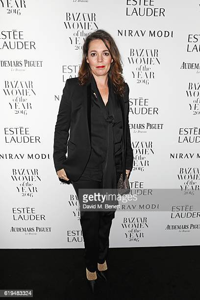 Olivia Colman attends the Harper's Bazaar Women of the Year Awards 2016 at Claridge's Hotel on October 31 2016 in London England