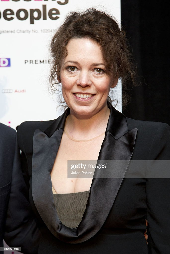 Olivia Colman, attends the London Critics' Circle Film Awards at The Mayfair Hotel on January 20, 2013 in London, England.