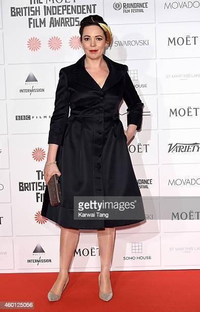 Olivia Colman attends the Moet British Independent Film Awards at Old Billingsgate Market on December 7 2014 in London England