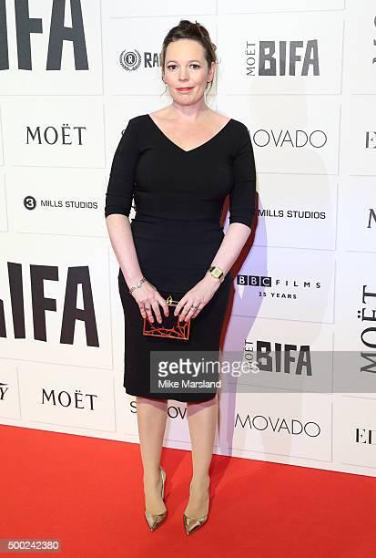 Olivia Colman attends the Moet British Independent Film Awards at Old Billingsgate Market on December 6 2015 in London England