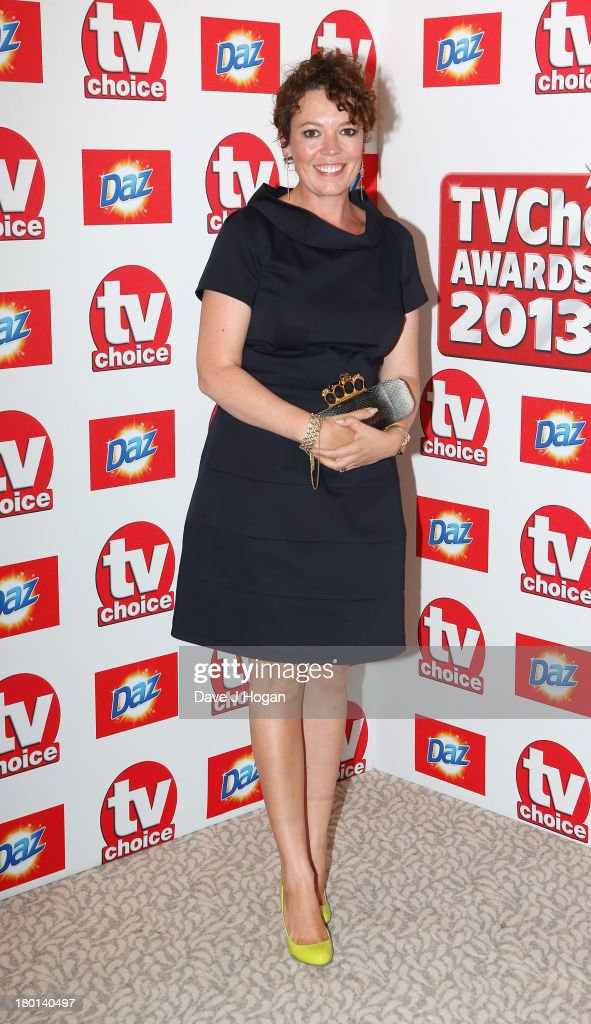 Olivia Colman attends the TV Choice Awards 2013 at The Dorchester on September 9, 2013 in London, England.