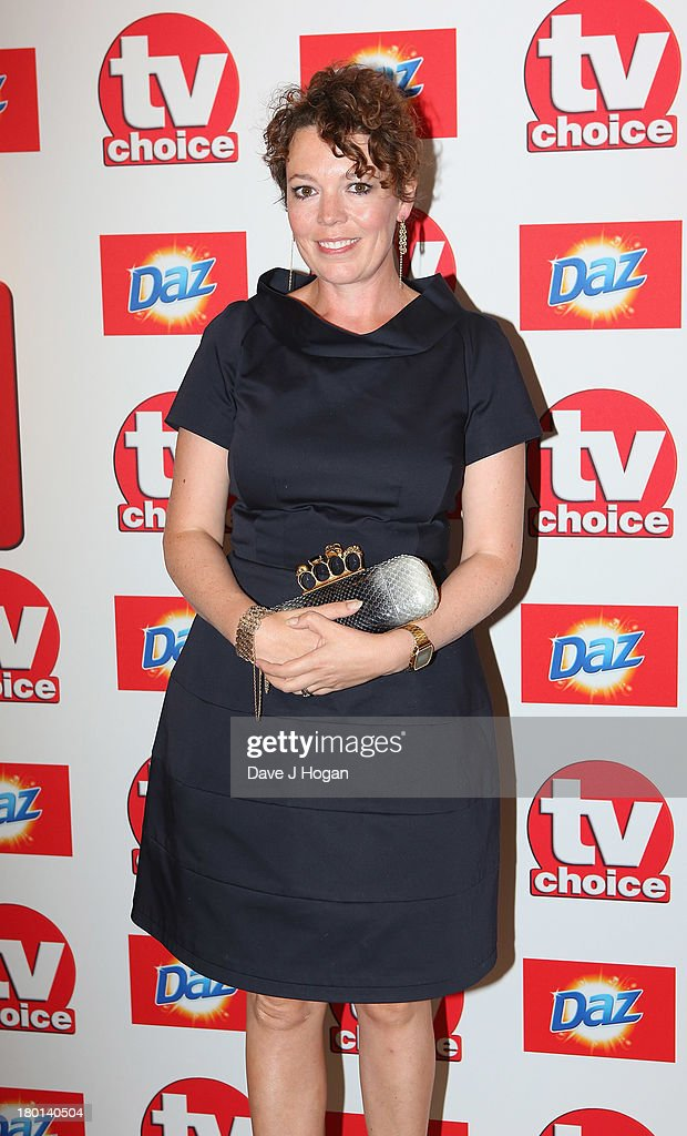 <a gi-track='captionPersonalityLinkClicked' href=/galleries/search?phrase=Olivia+Colman&family=editorial&specificpeople=5153582 ng-click='$event.stopPropagation()'>Olivia Colman</a> attends the TV Choice Awards 2013 at The Dorchester on September 9, 2013 in London, England.