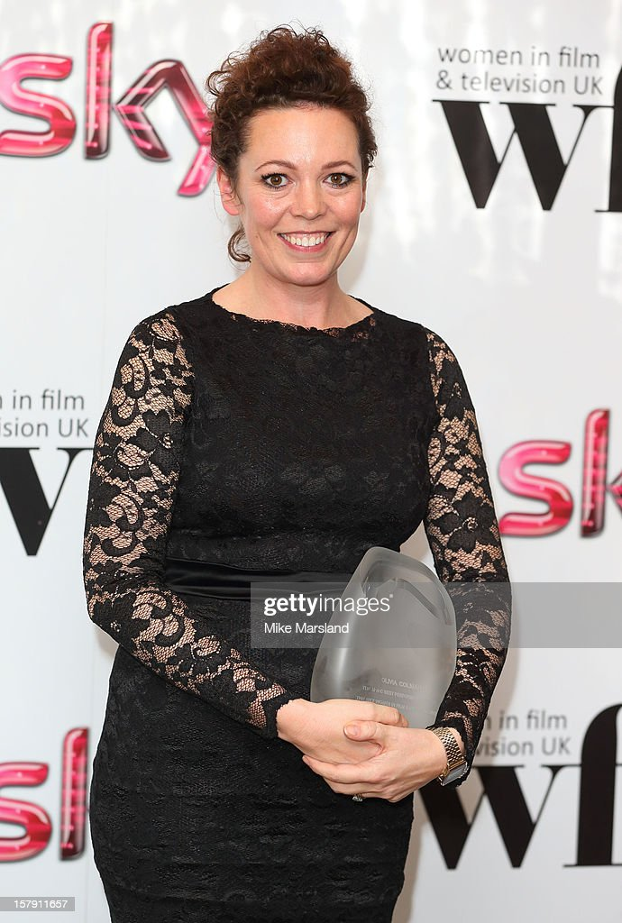 Olivia Colman attends the Women in TV & Film Awards at London Hilton on December 7, 2012 in London, England.