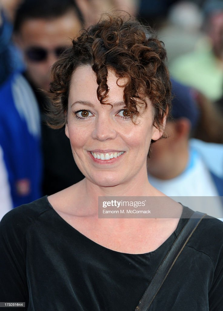 Olivia Colman attends the World Premiere of 'The World's End' at Empire Leicester Square on July 10, 2013 in London, England.