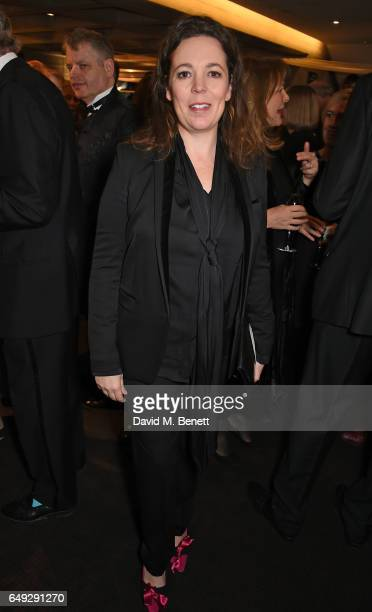 Olivia Colman attends 'Up Next The National Theatre's Annual Fundraising Gala' at The National Theatre on March 7 2017 in London England