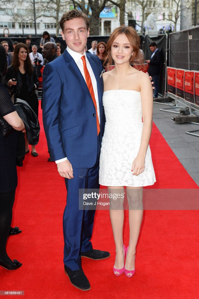 <a gi-track='captionPersonalityLinkClicked' href=/galleries/search?phrase=Olivia+Cooke&family=editorial&specificpeople=10104216 ng-click='$event.stopPropagation()'>Olivia Cooke</a> and Rory Fleck-Byrne attend the world premiere of 'The Quiet Ones' at The Odeon West End on April 1, 2014 in London, England.