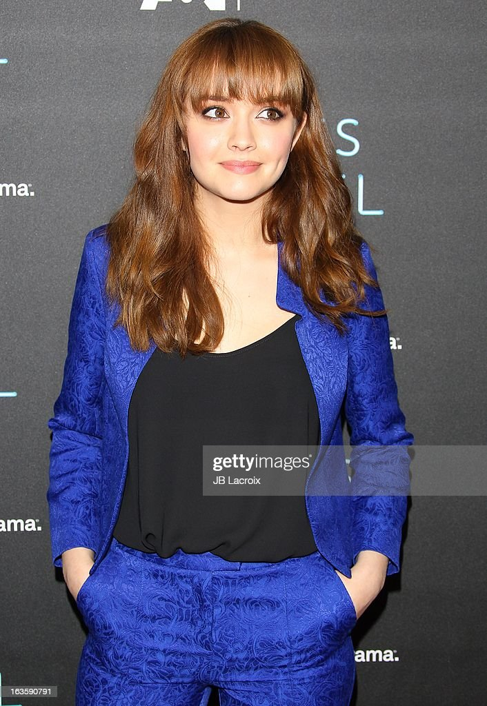 Olivia Cooke attends the A&E new series premiere of 'Bates Motel' at Soho House on March 12, 2013 in West Hollywood, California.