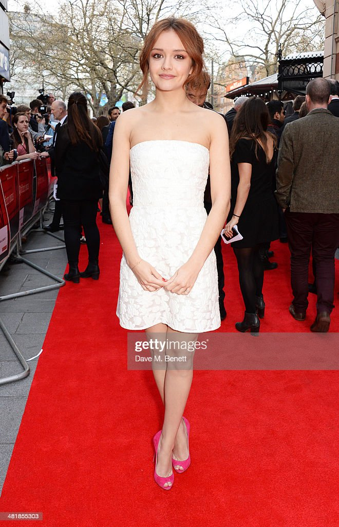 <a gi-track='captionPersonalityLinkClicked' href=/galleries/search?phrase=Olivia+Cooke&family=editorial&specificpeople=10104216 ng-click='$event.stopPropagation()'>Olivia Cooke</a> attends the World Premiere of 'The Quiet Ones' at the Odeon West End on April 1, 2014 in London, England.