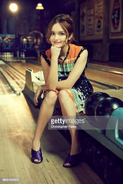 Olivia Cooke is photographed for The Hollywood Reporter on October 14 2016 in Los Angeles California Published Image