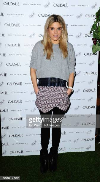 Olivia Cox attending the Caudalie Boutique launch in Soho London