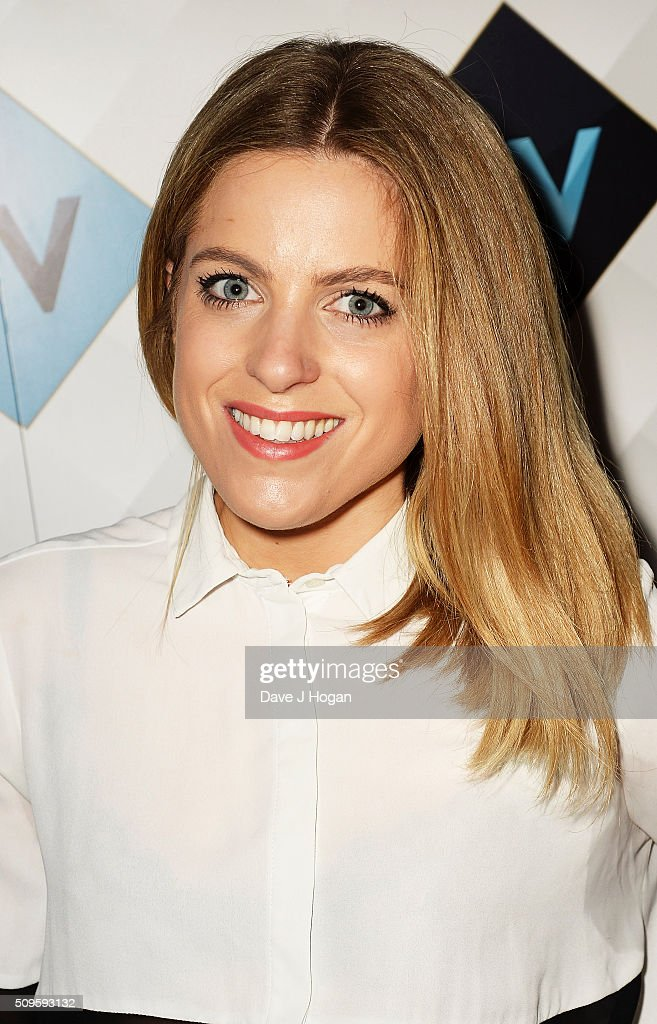 Olivia Cox attends a celebration of the new TV channel 'W,' launching on Monday 15th February, at Union Street Cafe on February 11, 2016 in London, England.
