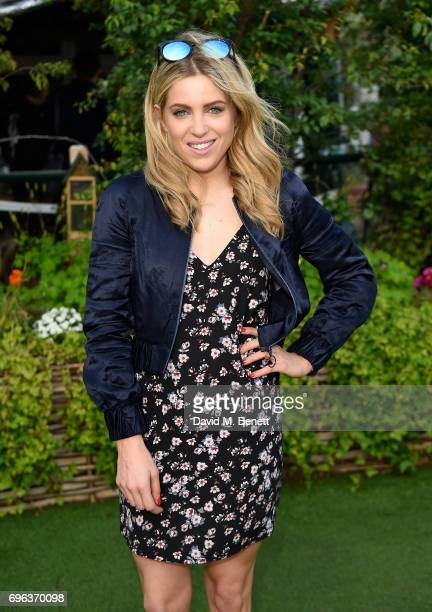 Olivia Cox attends Microsoft's Surface Garden Sessions at The Gardening Society on June 15 2017 in London England