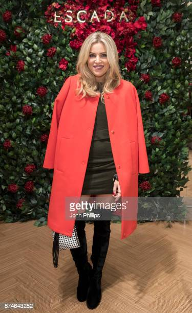 Olivia Cox attends New Flagship Store Opening of Luxury Fashion Brand ESCADA on Sloane Street on November 15 2017 in London England