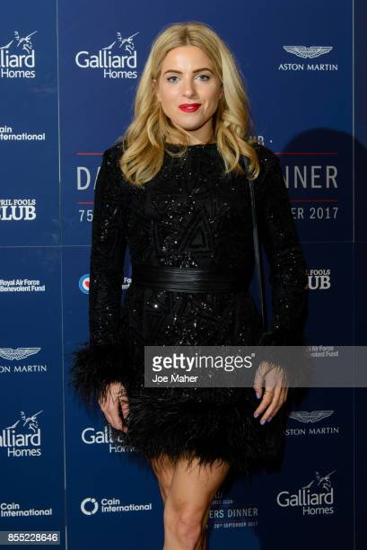 Olivia Cox attends the 75th Anniversary Dambusters dinner at Plaisterers Hall on September 28 2017 in London England
