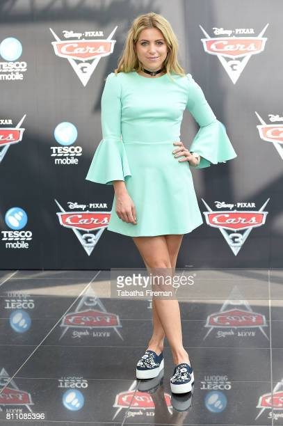 Olivia Cox attends the charity gala screening of 'Cars 3' at Vue Westfield on July 9 2017 in London England