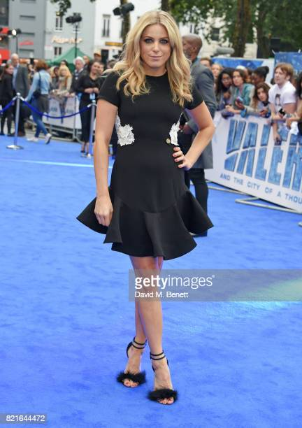 Olivia Cox attends the European Premiere of 'Valerian And The City Of A Thousand Planets' at Cineworld Leicester Square on July 24 2017 in London...