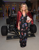 Olivia Cox attends The Grand Prix Ball prior to the British Grand Prix 2016 at The Hurlingham Club on July 6 2016 in London England