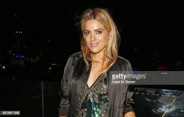 Olivia Cox attends the Look Of The Day launch party in the Radio Rooftop Bar at the ME Hotel on August 16 2017 in London England