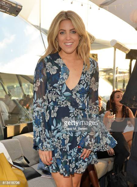 Olivia Cox attends the Madison Rooftop party on July 12 2017 in London England