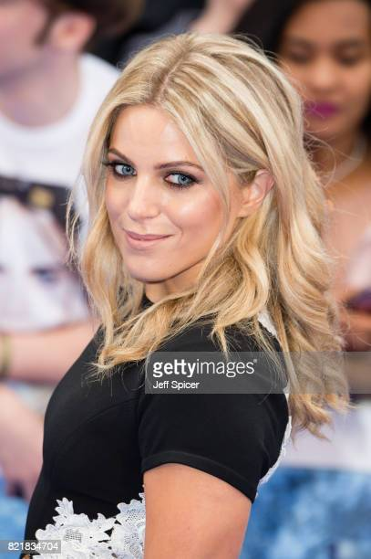 Olivia Cox attends the 'Valerian And The City Of A Thousand Planets' European Premiere at Cineworld Leicester Square on July 24 2017 in London England