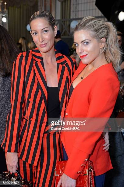 Olivia Cox guest attend the Aspinal of London presentation during London Fashion Week September 2017 on September 18 2017 in London England