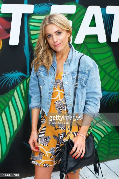 Olivia Cox pictured at the VIP launch of Just Eat Food Fest Desert Island Dishes in Red Market London The threeday desert islandinspired street food...