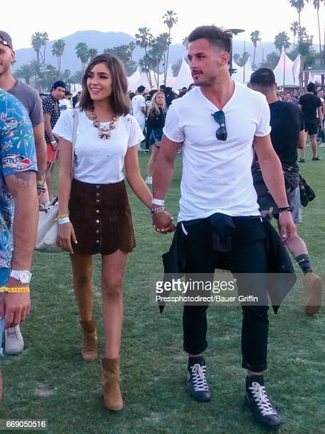 Olivia Culpo and Danny Amendola are seen on April 15 2017 in Los Angeles California