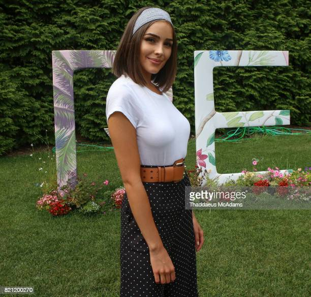 Olivia Culpo at Revolve in The Hamptons Hot in Havana party on July 22 2017 in Bridgehampton New York