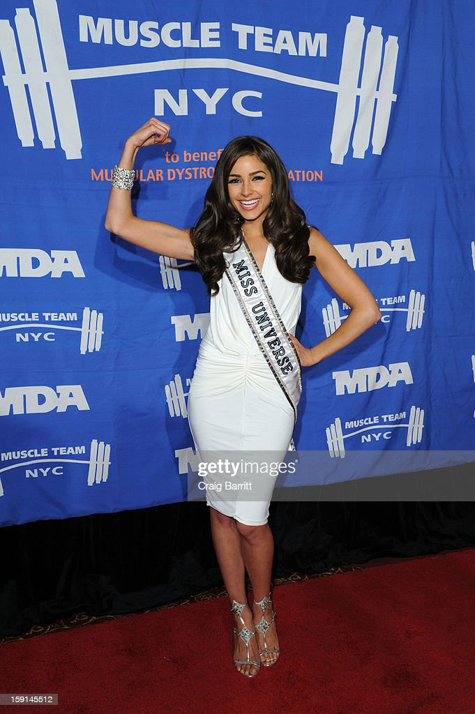 <a gi-track='captionPersonalityLinkClicked' href=/galleries/search?phrase=Olivia+Culpo&family=editorial&specificpeople=9194131 ng-click='$event.stopPropagation()'>Olivia Culpo</a> attends 16th Annual MDA Muscle Team Gala and Benefit Auction at Pier 60 on January 8, 2013 in New York City.