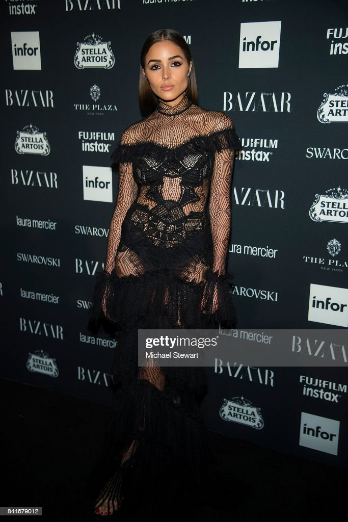 Olivia Culpo attends 2017 Harper's Bazaar Icons at The Plaza Hotel on September 8, 2017 in New York City.