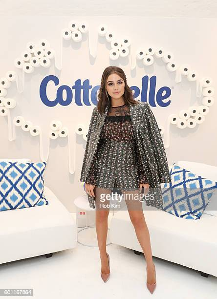 Olivia Culpo attends day two of Beauty Bar Presented by Cottonelle on September 9 2016 in New York City