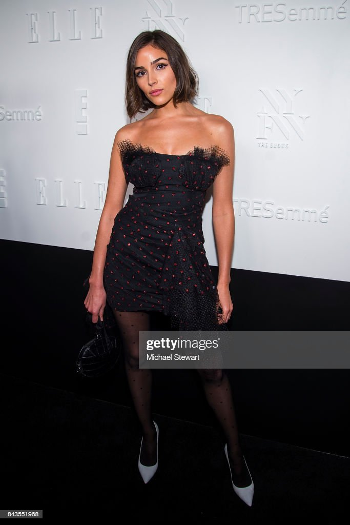 Olivia Culpo attends ELLE, E! & IMG host A Celebration of Personal Style NYFW Kickoff Party on September 6, 2017 in New York City.