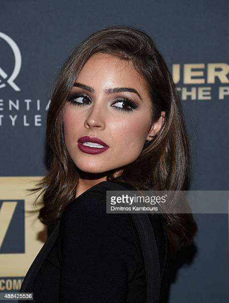 Olivia Culpo attends 'Jeremy Scott The People's Designer' New York Premiere at The Paris Theatre on September 15 2015 in New York City