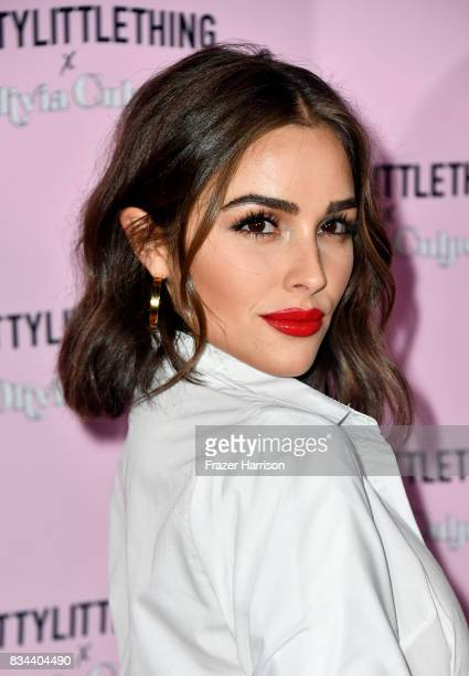 Olivia Culpo attends PrettyLittleThing X Olivia Culpo Launch at Liaison Lounge on August 17 2017 in Los Angeles California