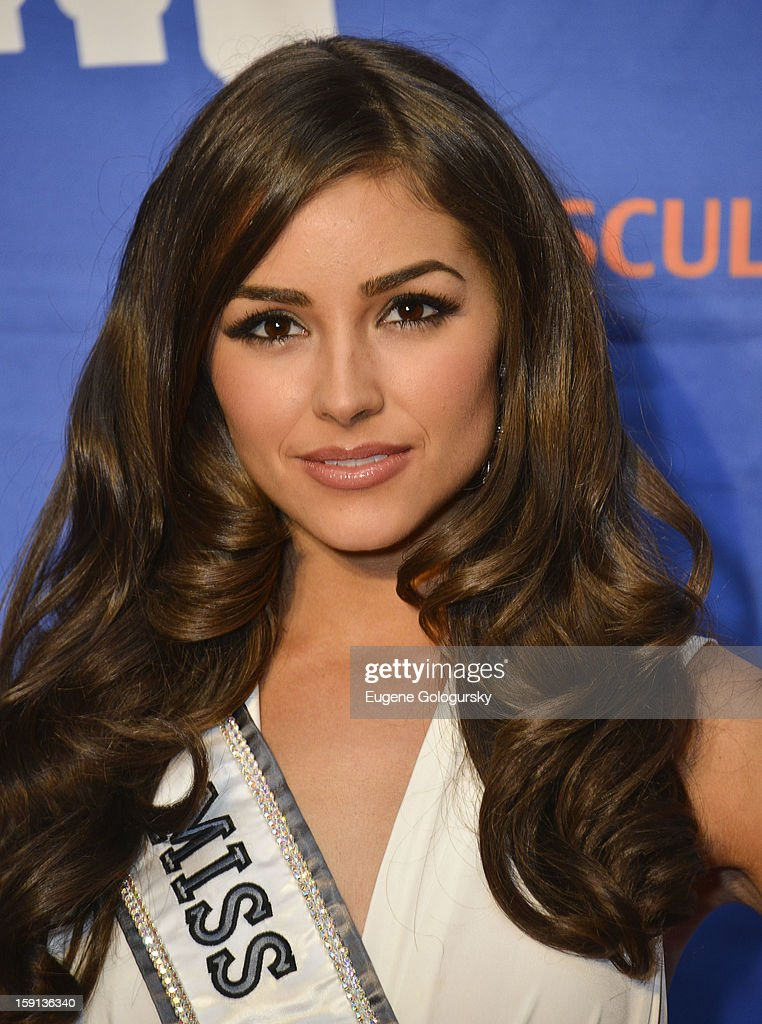 Olivia Culpo attends the 16th annual Muscular Dystrophy Association Muscle Team Gala and Benefit Auction at Pier 60 on January 8, 2013 in New York City.