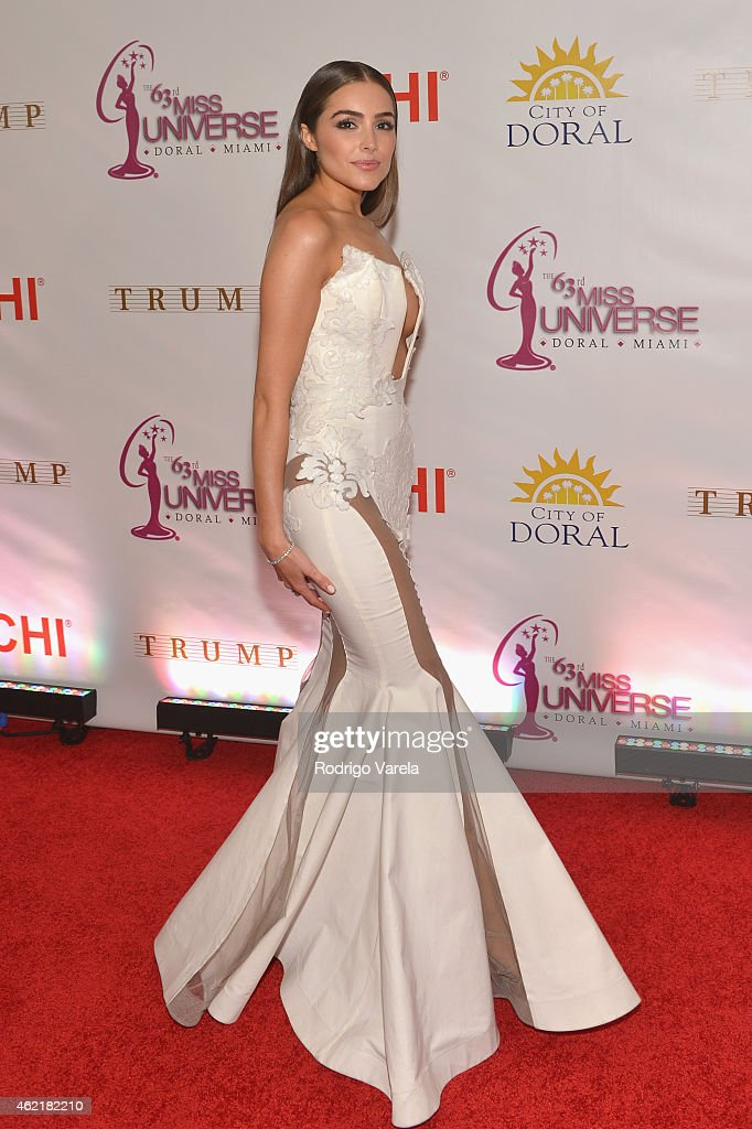 <a gi-track='captionPersonalityLinkClicked' href=/galleries/search?phrase=Olivia+Culpo&family=editorial&specificpeople=9194131 ng-click='$event.stopPropagation()'>Olivia Culpo</a> attends The 63rd Annual Miss Universe Pageant at Trump National Doral on January 25, 2015 in Doral, Florida.