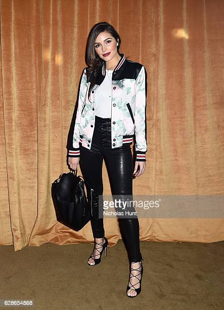 Olivia Culpo attends the Coach 75th Anniversary Party on December 8 2016 in New York City